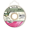 Rattail Cord 2mm 20 Yds With Re-useable Bobbin Strawberry Pink